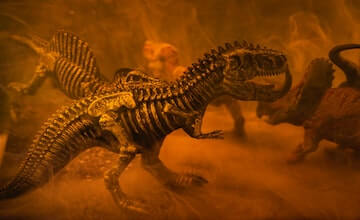 Evolution of how dinosaurs breathed at Near Events